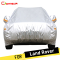Cawanerl Full Car Cover SUV Zon Sneeuw Regen Protector Cover Voor Land Rover Discovery Range Rover Evoque Freelander