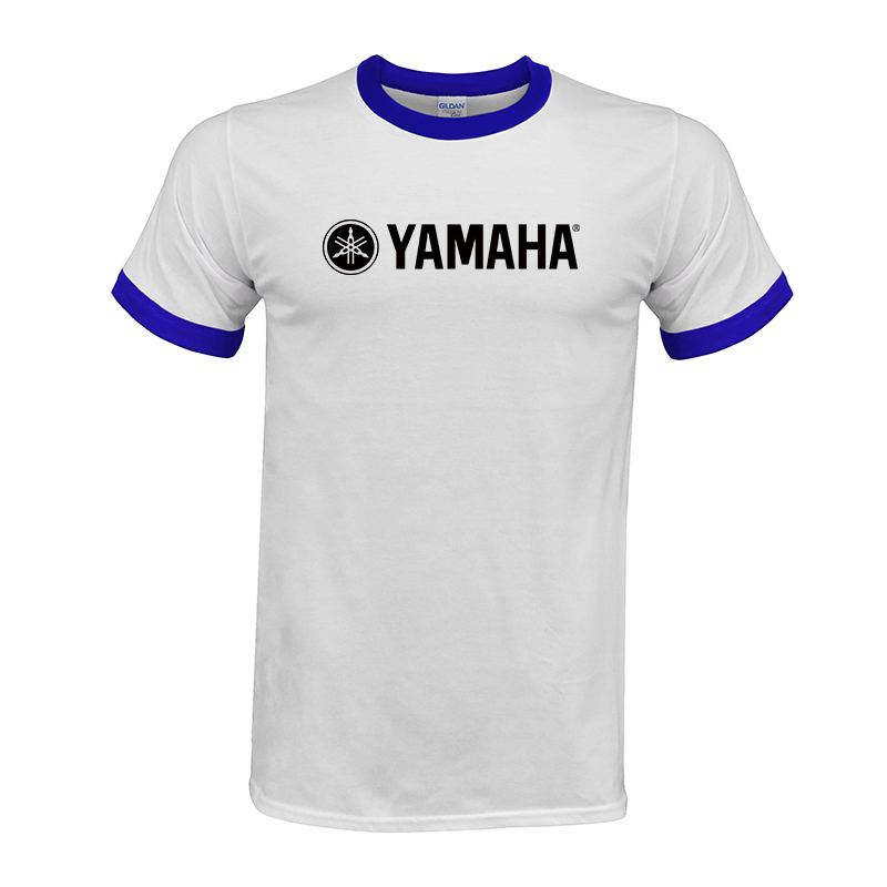 7bb365d8 Cool YAMAHA logo T shirt Brand Clothing Letter Print tees Short Sleeve High  Quality Raglan T Shirt for women and men top #02-in T-Shirts from Men's  Clothing ...