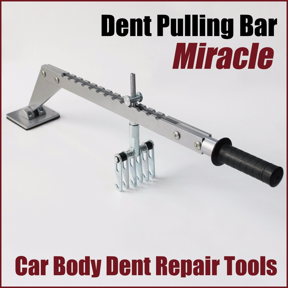 miracle system dent puller panel repair system starter master kit strong puller complete kit auto body repair lever bar pulling