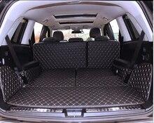 De alta calidad! esteras tronco especial para Mercedes Benz GLS 450 7 asientos 2017 usar-resistencia alfombras de arranque para GLS450 2016, envío gratis