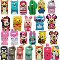 For Samsung J3 2015 Case 3D Cute Cartoon Soft Silicone Case For Samsung Galaxy J310 J3 2016 & 2017 / J3 Emerge / J3 Prime Cover