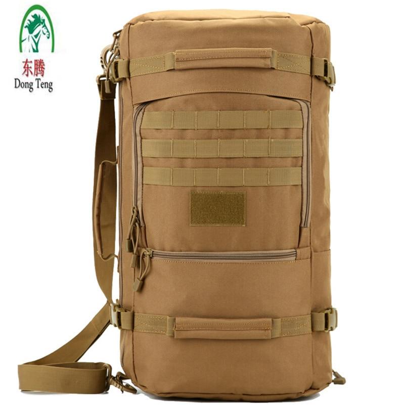 Men's Military Backpack Waterproof Nylon Bag Backpacks Men Travel Bags protector plus 25l waterproof nylon backpacks military backpack double shoulder multifunction women bag men travel backpack