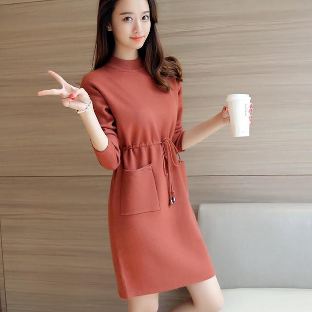 4328-2016 Corea del otoño nuevas mujeres suéter 82