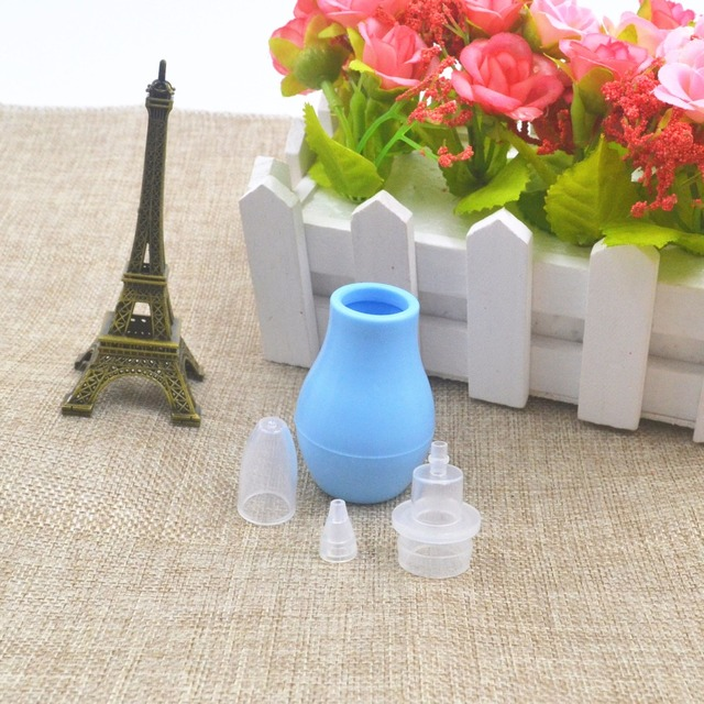 2018 Nasal suction device Kids Children Care Safe Non toxic Silicone Nasal Aspirator Cold Nose Snivel Mucus Clean Suction Device