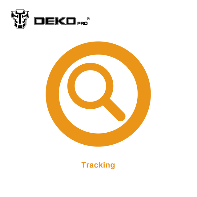 Tracking the package by DEKO Official Store
