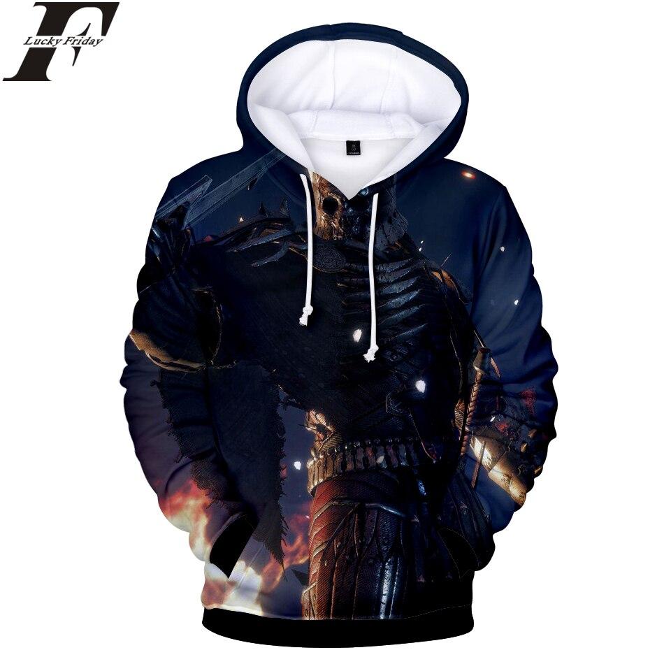 LUCKYFRIDAYF Witcher 3 3D Hoodies Sweatshirt Game Women/Men Hoodies Regular Sweatshirt Fashion Hoodies Anime Clothes Plus Size
