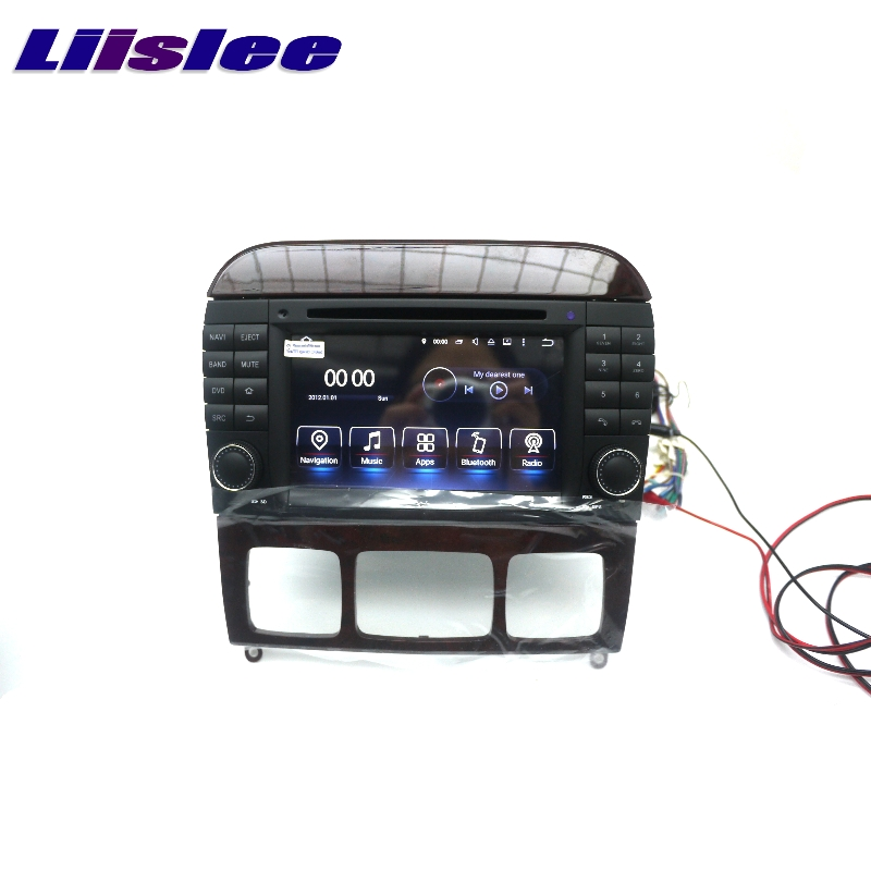 For Mercedes Benz MB S W220 S55 LiisLee Car Multimedia GPS Audio Hi-Fi Radio Stereo Original Style Navigation NAVI