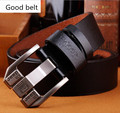 2016 designer high quality luxury brand genuine leather pin buckle belts for men fashion business men belts cinto masculino