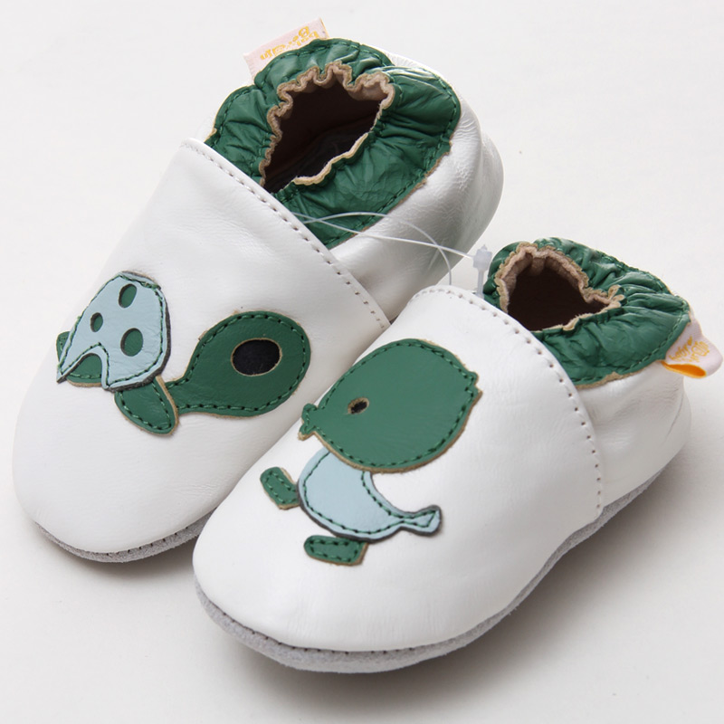 d81194d39 Newborn Baby Moccasins Animal Leather Baby Shoes White Infant Shoes Boys  Toddler Kids Shoes Girl Slipper Soft Sole Baby Shoes-in First Walkers from  Mother ...