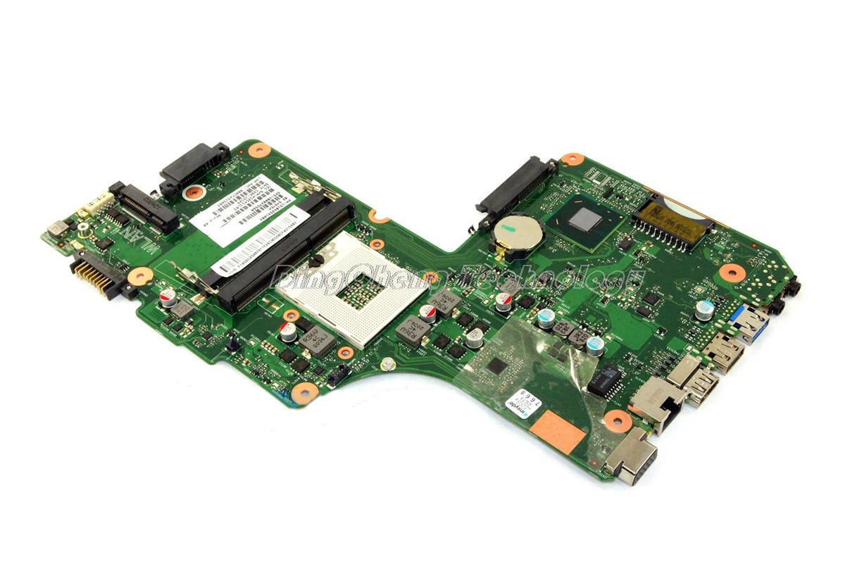 HOLYTIME laptop Motherboard For Toshiba Satellite C850 C855 6050A2541801-MB-A02 V000275560 HM70 DDR3 integrated graphics card image