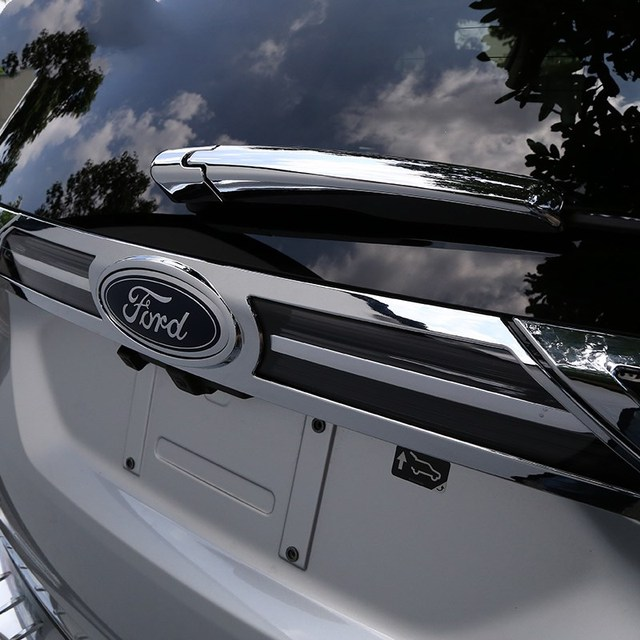 Car Rear Chrom Plating Styling Cover For Ford Edge Sport Trim Accessories