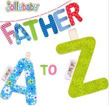26 stücke Jollybaby Buchstaben Baby Tuch Bücher Frühe Entwicklung Kinder Pädagogisches Bett Kinderwagen Hängen Lernen Brief Spielzeug 50%