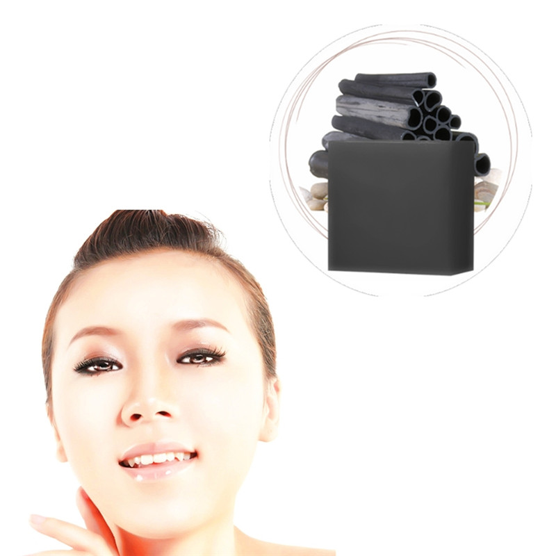 Bamboo Soap Face Body Clear Refine Pore Openings Completely Active Energy Soaps Charcoal Concentrated Soap For Ance Blackhead