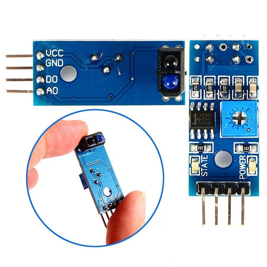 TCRT5000 Infrared Reflectance Sensor Obstacle Avoidance Module Tracing Sensor Tracing Module