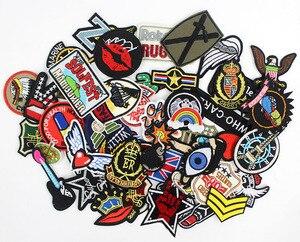 Image 3 - 50 шт./лот нашивки для одежды значки утюжок на шитье укороченные нашивки для одежды рюкзак Наклейки Аппликации