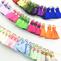 DIY 20MM silk Brush earrings accessories  tassel for Hand made jewelry/jewelry findings/jewelry materials 10pcs/lot