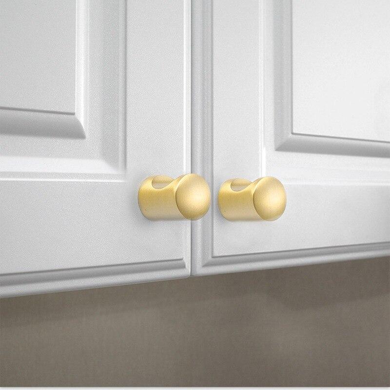 Современный матовый латунный золотой комод для шкафа с выдвижными ящиками для кухонного шкафа дверные ручки и ручки Hardware-1Pack