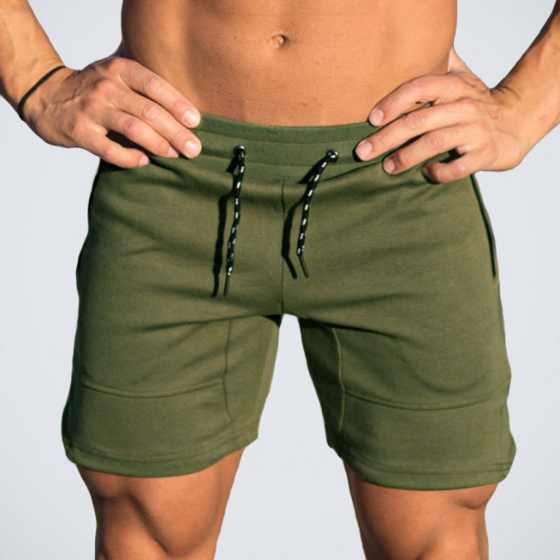 2018 Summer Solid Casual Men Shorts Slim Hot Sale ...