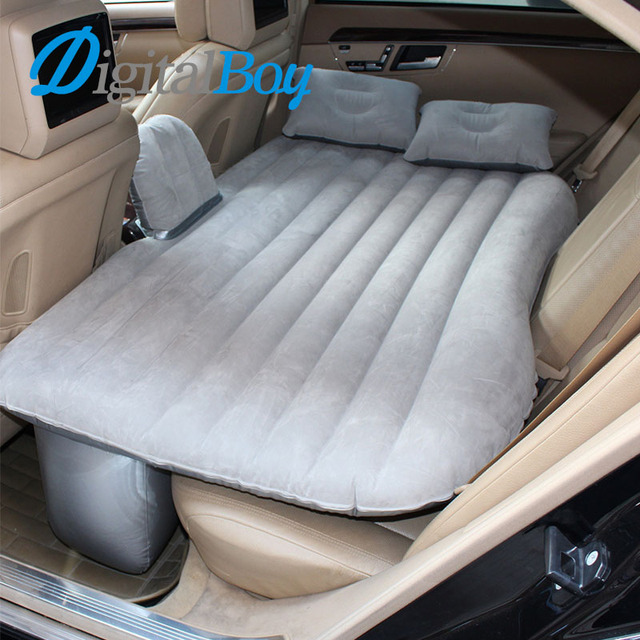 Digitalboy Car Air Mattress Travel Bed Car Back Seat Cover