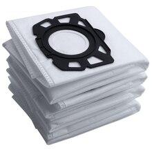 10 Uds de bolsas de filtro para Karcher MV4 MV5 MV6 WD4 WD5 WD6 Karcher WD4000 a WD5999 de Parte #2.863 006,0