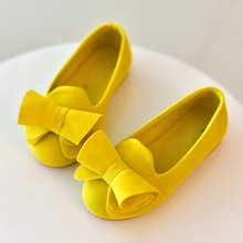 Candy Color Children Shoes Girls Princess Shoes Fashion Girls Slip on Shoes With Bow 1-12 years old kids shoes MCH011 cheap CN(Origin) Spring Autumn Female 7-12m 13-24m 25-36m 3-6y 7-12y 12+y Velvet Ballet Flats Butterfly-knot Slip-On