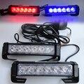 High Power 36W 12v Strobe Warning Light Bar Trailer Marker Daytime Running Lights Amber Red Blue Led Police Emergency Light