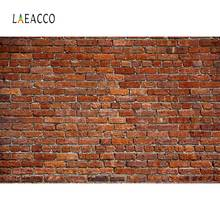 Laeacco Photography Backdrops Old Brick Wall Cement Pattern Portrait Photocall Photographic Backgrounds For a photo Studio