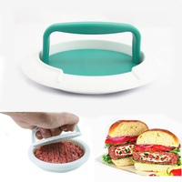 DIY Hamburger Pressure Meat Maker Newest Hamburger Grill Plate For BBQ Accessories