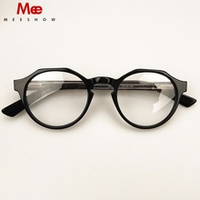 2018 Trend retro eyeglasses Wood optical  frame High quality eyeglasses with case women Eyeglasses Myopia personal customized