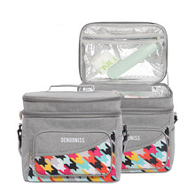 Insulated Waterproof Picnic Bag Oxford Cold Camping Thermal Cooler Lunch bag Leakproof Bento