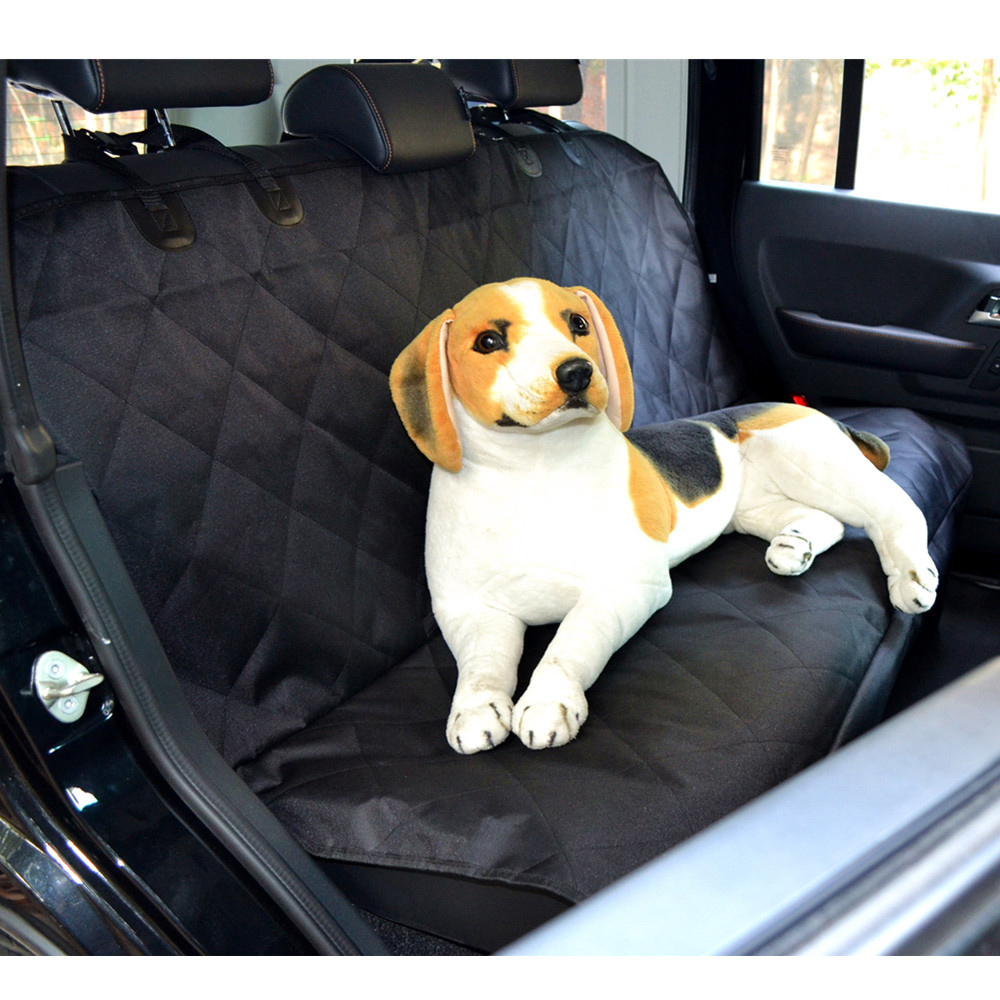 Popular Brand Pet Dog Cat Car Rear Bench Back Seat Cover Mat Safety Dog Accessories Waterproof Hammock Style Cover Of Suv For Pet Cat Beds & Mats