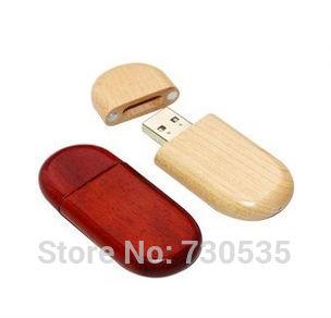 Hot selling creative wood USB 2.0 flash memory stick pen drive 4GB 8GB16GB 32GB can make logo Real capacity CC M409