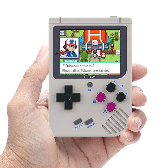 Игровая консоль, BittBoy V2 ретро-консоль, ручной игры игроки поддержка больше классических игр для детей ностальгические плеер