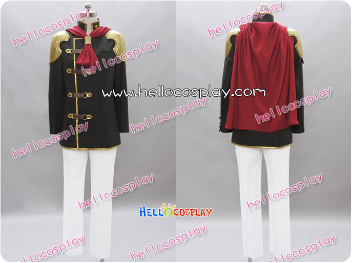 Final Fantasy Type-0 Cosplay Machina Costume H008
