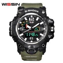 Wissin Relojes Hombres Militar Del Ejército Para Hombre Reloj Led Reloj Digital de Los Deportes Masculinos Regalo Analógico S Choque Relojes Automáticos Masculinos