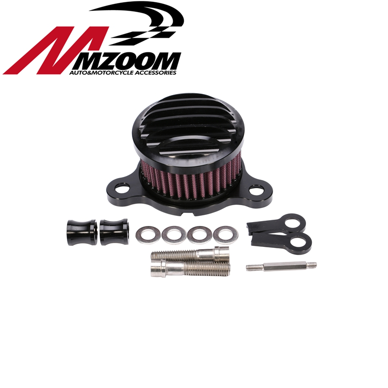 Motorcycle Air filter+Intake Filter System RC Case For sportster XL883/1200 04'-UP For Rough Crafts Air Cleaner air filter intake cleaner for yamaha mt 07