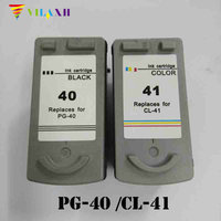 PG 40 CL 41 Ink Cartridge for Canon PG40 CL41 PG 40 Pixma MP140 MP150 MP170 MP190 MP210 MP220 MP450 MP460 MP470 iP1800 iP2500