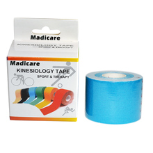 Sports Kinesiology Tape Cotton 5cm 5m Muscle Athlete Elbow Knee Support Bike Bicycle Soccer Jerseys Athletic Tape