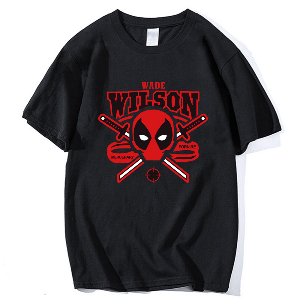 o-neck summer streetwear camisetas deadpool short sleeve t shirts 2019 plus size fitness hip-hop brand clothing men tops tees