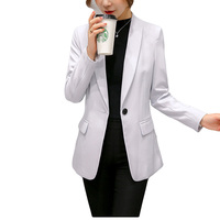2018 Autumn And Winter New Women Suit Jacket Korean Version Of The Wild Small Suit Slim