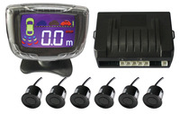 4 Sensors 6Sensor 8Sensor 22mm Buzzer LCD Kit Display Car Reverse Backup Radar Monitor System