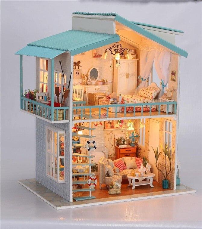 Como hacer casas en miniatura finest en ninguna localidad puede faltar el mercado y hilsenhoff - Casas en miniatura de madera ...
