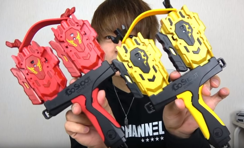 Beyblade Burst B-131 Booster Morts Phoenix.0.at Brook fabriqué en Taiwan GoShoot Dynamitage Gyro Double Lanceur