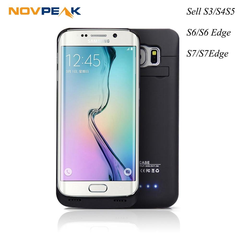Цена за Ultra Slim Портативный Резервное копирование Внешняя Батарея Зарядное устройство чехол Мощность банк Мощность Bank Обложка для Samsung Galaxy S3 S4 S5 S6 S7 S6/S7 край