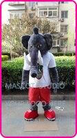 Талисман плюшевый слон костюм талисмана обычай необычные костюмы аниме косплей комплекты mascotte мультфильм тема маскарадный костюм