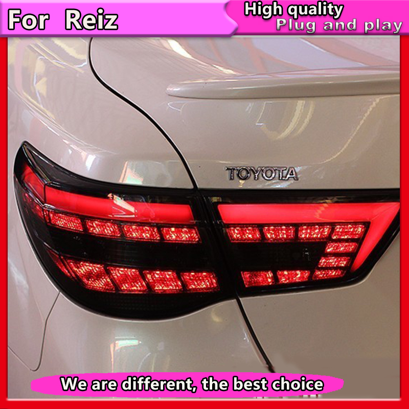 Car Styling Tail Lamp for Toyota Reiz Mark X LEDTail Lights 2010 2011 2012 Mark X LED Tail Light Rear Lamp DRL+Brake+Park+Signal
