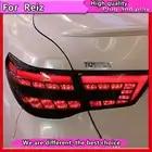 Estilo do carro Lâmpada de Cauda para Toyota Reiz Mark X LEDTail Luzes 2010 Mark X 2011 2012 Traseiras Led luzes Traseiras Lamp DRL + Freio + Parque + Sinal