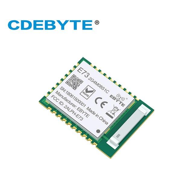 10 adet/grup İskandinav nRF52840 ModuleLong Mesafe/Aralığı Bluetooth 5 E73 2G4M08S1C ble 5.0 nrf52 nrf52840 Verici ve Recieever