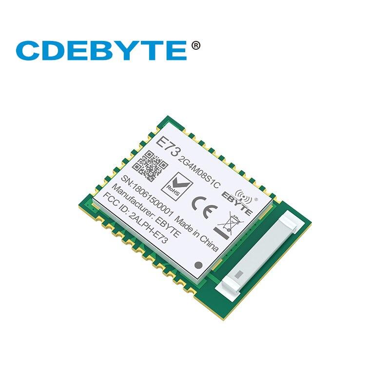 10pc/lot Nordic NRF52840 ModuleLong Distance / Range Bluetooth 5 E73-2G4M08S1C Ble 5.0 Nrf52 Nrf52840 Transmitter And Recieever