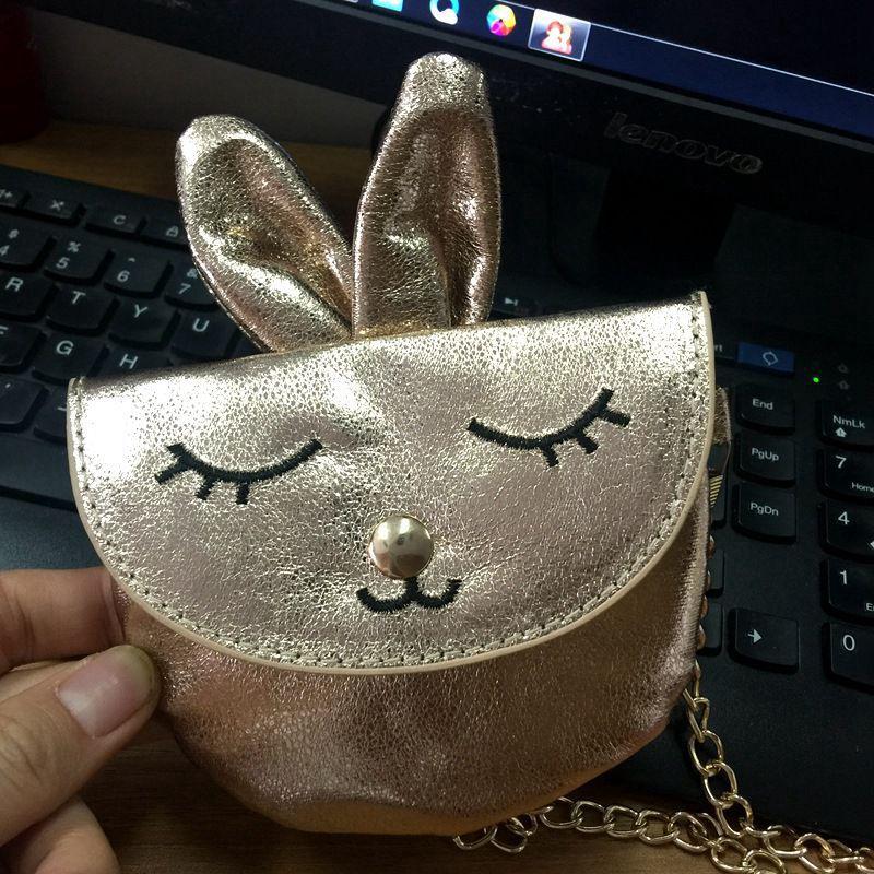 Beau-tasche Für Mädchen Kinder Handtasche Kaninchen Schulter Tasche Baby Geldbörse Pu Leder Junge Umhängetasche Kid Crossbody-tasche Guter Geschmack Kinder- & Babytaschen Crossbody-taschen